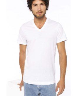 T-Shirt col V manches courtes homme K370