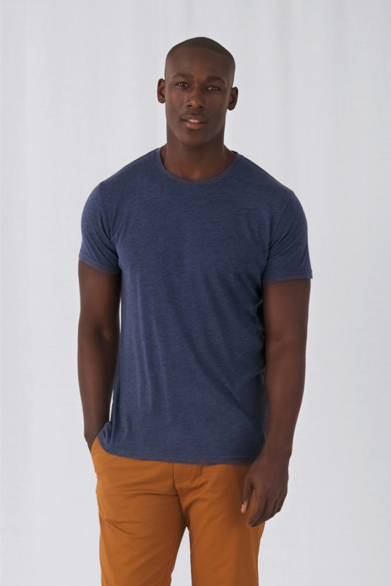 CGTM055 - T-shirt Triblend col rond Homme